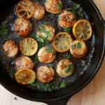 sea scallops in lemon butter