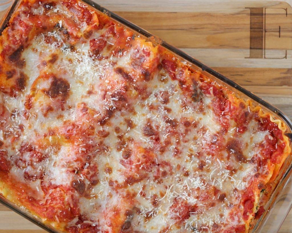 freezer ready lasagna