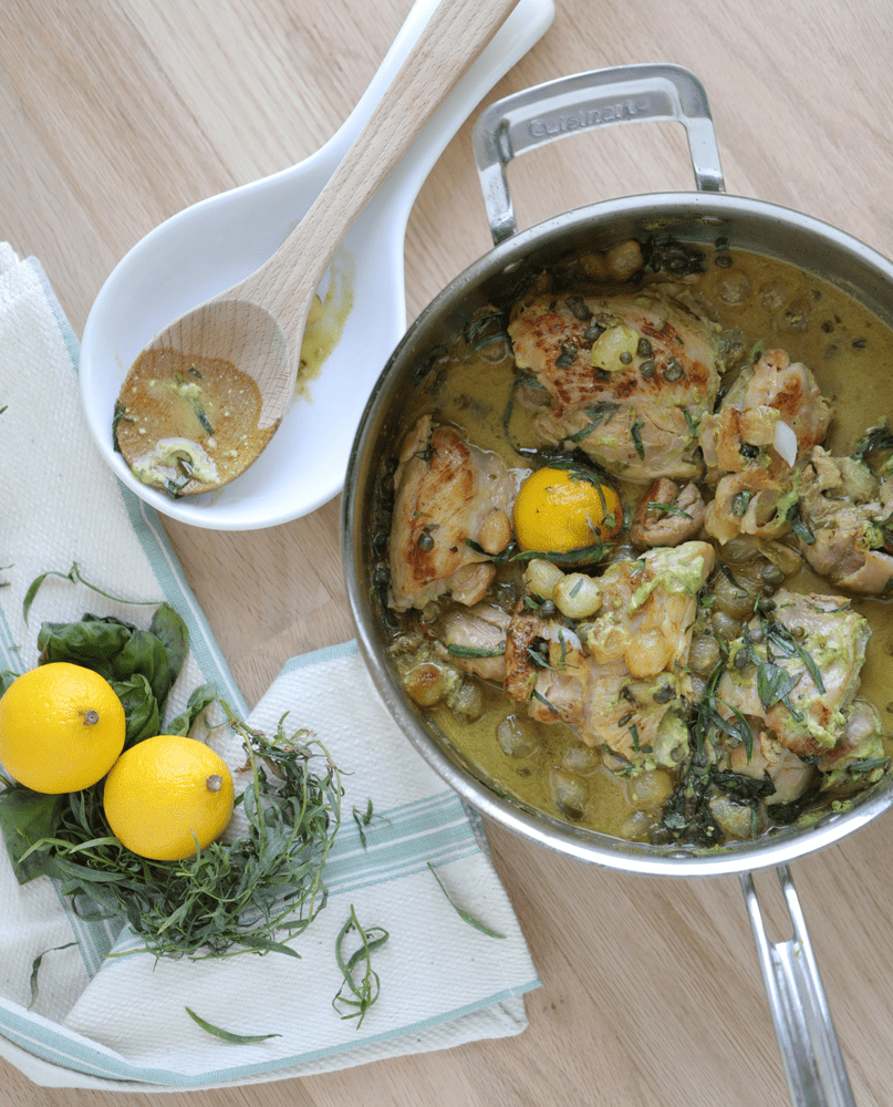 chicken one pan meal, chicken and rice, lemon and tarragon chicken, herbs and chicken, lemon chicken, best one pan chicken recipe, chicken recipe