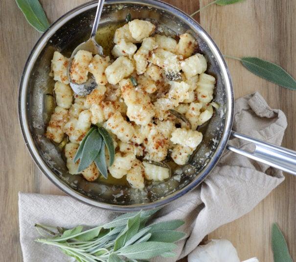 gnocchi, brown butter sage sauce, best gnocchi, homemade gnocchi, how to make gnocchi