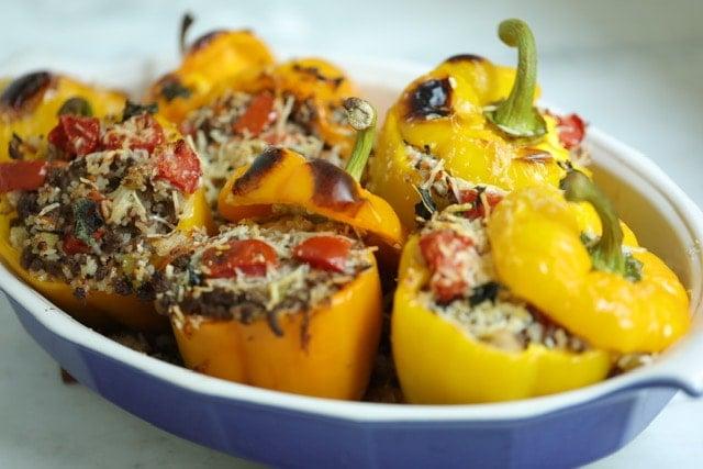 Stuffed Bell Peppers Recipe 1, CucinaByElena