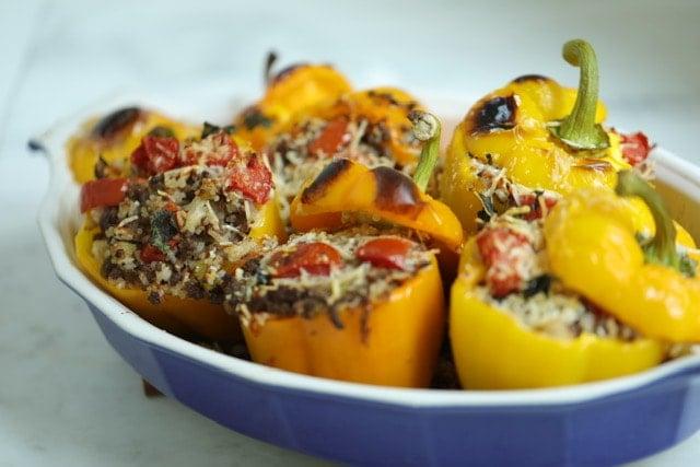 Stuffed Bell Peppers Recipe 4, CucinaByElena