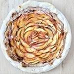 apple tart, apples, French apple tart, apple tart, easy apple tart,