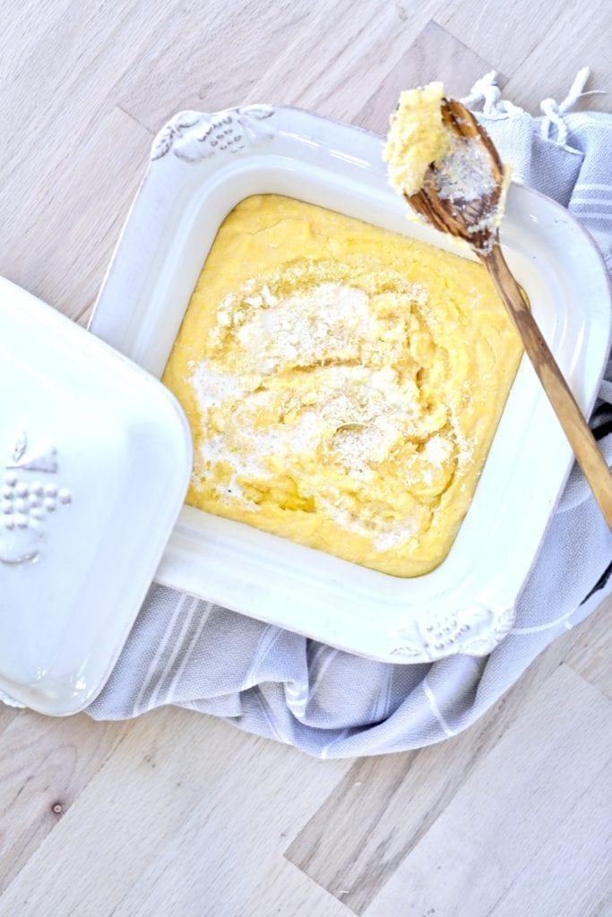 Italian polenta recipe, polenta recipe, creamy polenta, best polenta, Italian food,  authentic Italian polenta