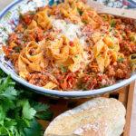 meat sauce, ragu, authentic Italian recipe, Italian meat sauce, pasta and meat sauce, best meat sauce, best ragu,
