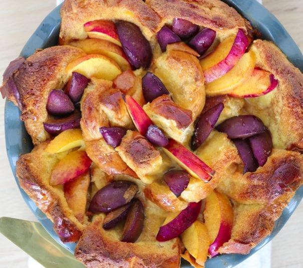 french toast bake, overnight french toast, challah french toast, french toast, breakfast, brunch, dessert