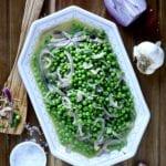 peas- onions- side dish