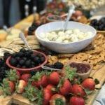 charcuterie board- food-