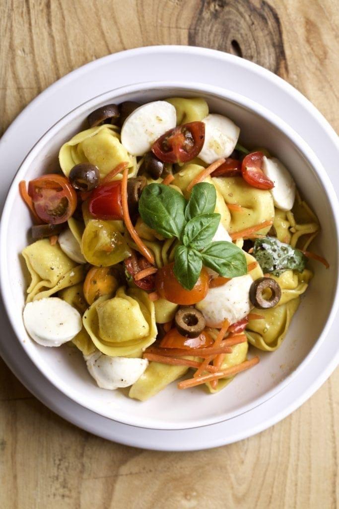 Italian tortellini salad recipe Italian Style