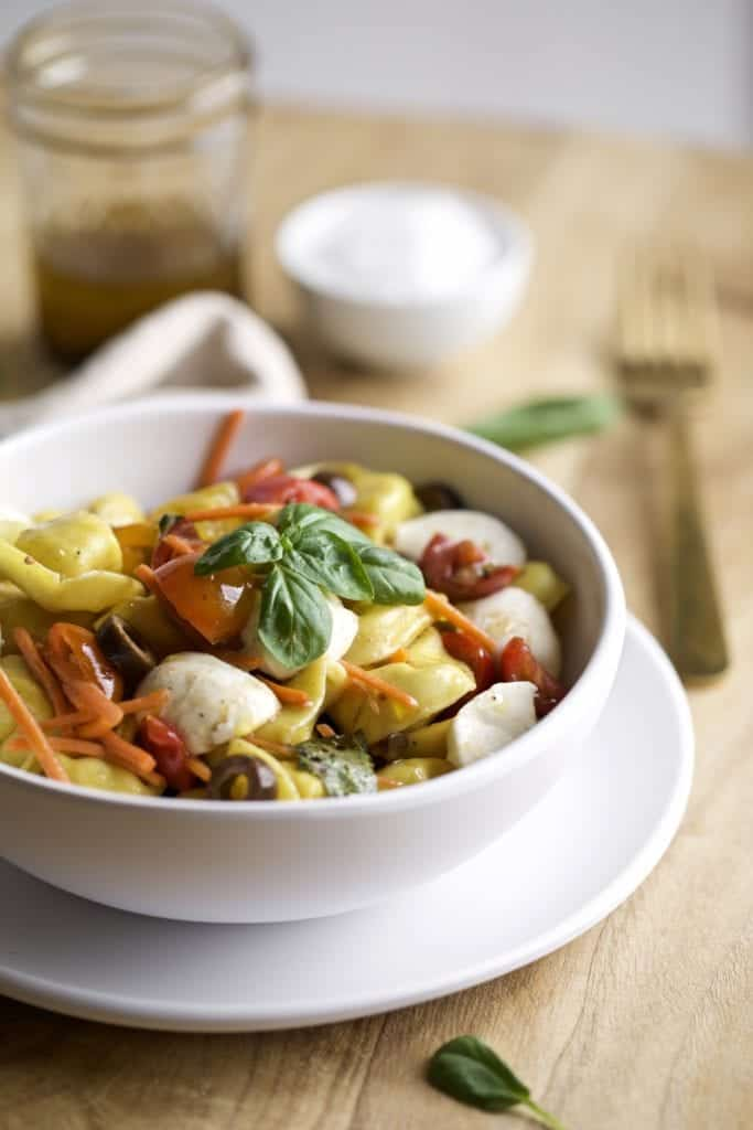 Easy Italian Tortellini Pasta Salad Recipe