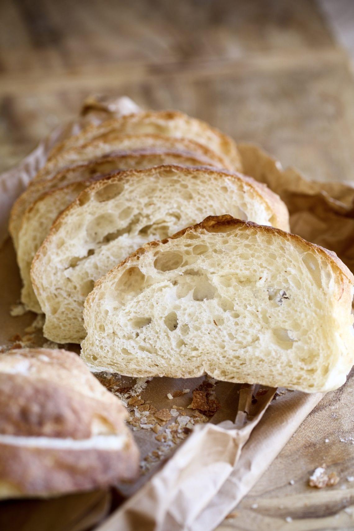 Easy- No Knead- Ciabatta Bread