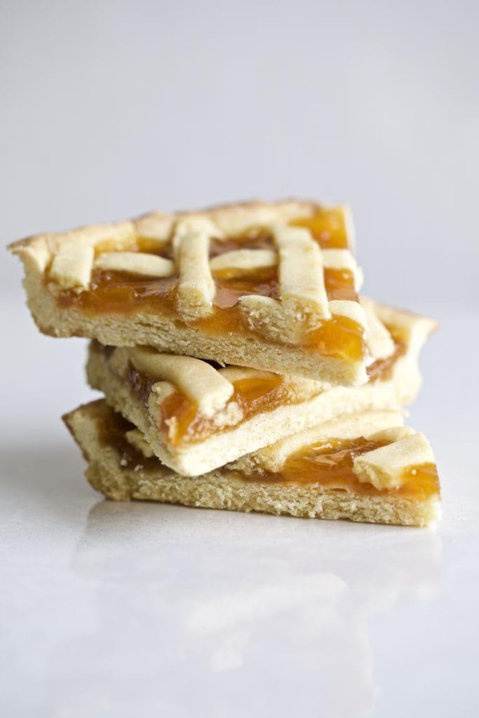 Italian Crostata slices