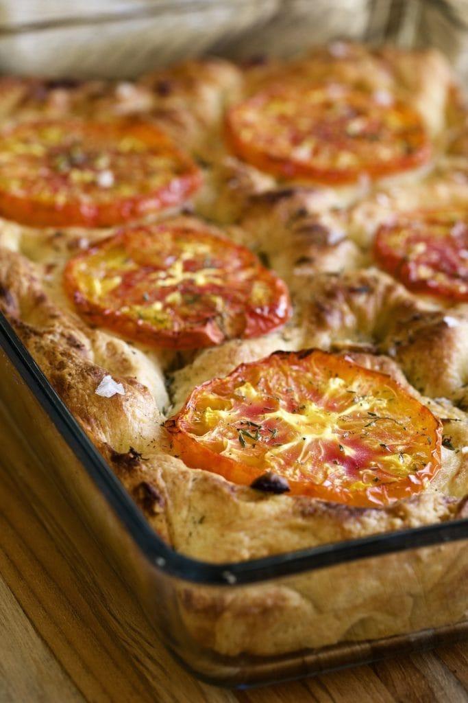 thick tomato focaccia best recipe