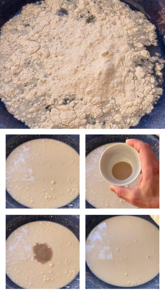 steps to make pizza dough